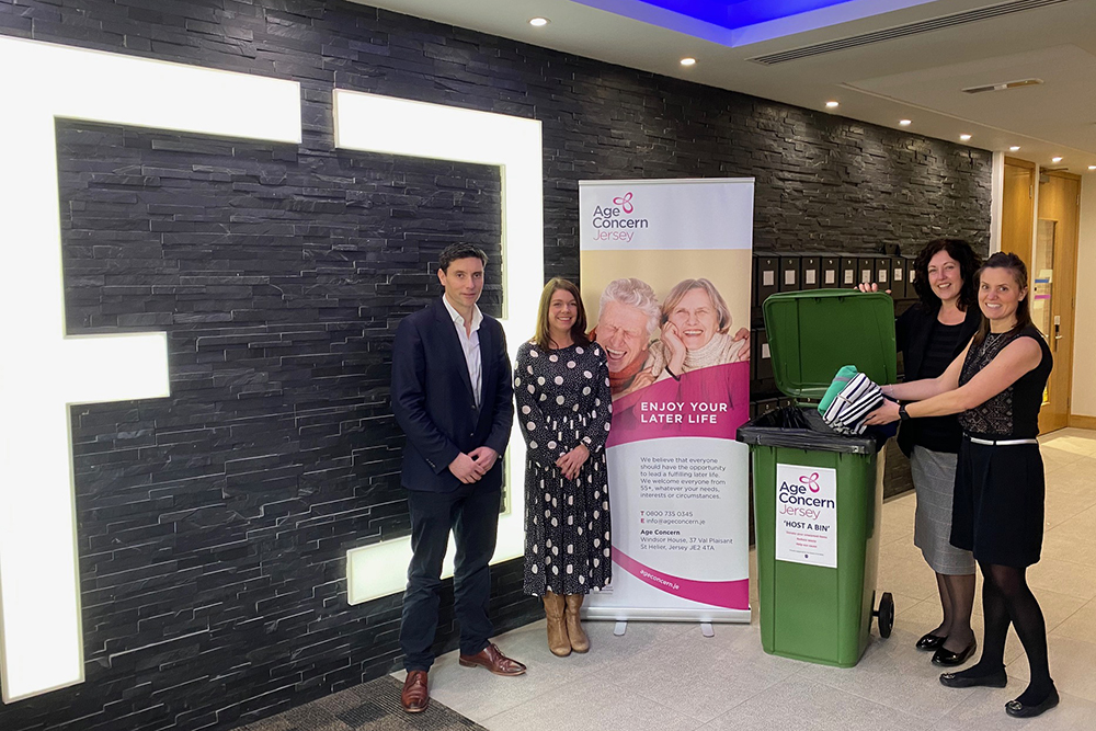 The Collective Supports Age Concern's 'Host A Bin' Initiative
